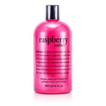 Raspberry Sorbet Shampoo, Bath & Shower Gel  473.1ml/16oz