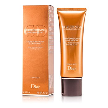 Dior Bronze Self Tanner Cream Natural Glow For Body 120ml/4.3oz