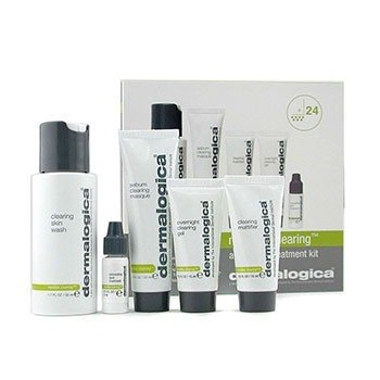 Dermalogica MediBac Clearing Adult Acne Tratamiento Kit  5pcs