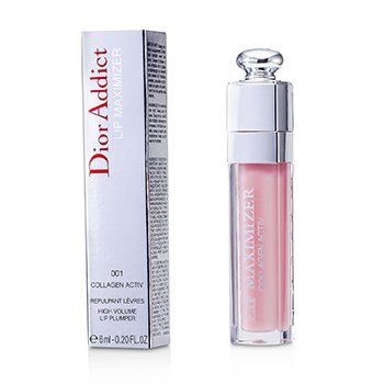 Christian Dior Gloss Labial Dior Addict volumizador  (com colageno)  6ml/0.2oz