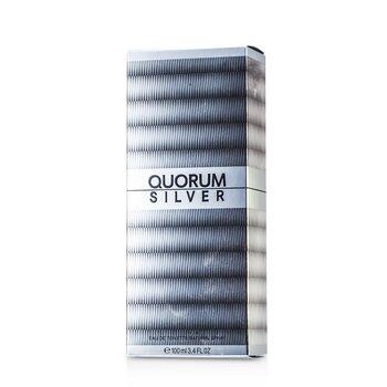 Quorum Silver Eau De Toilette Spray  100ml/3.4oz