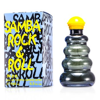 Samba Rock & Roll Eau De Toilette Spray  100ml/3.4oz