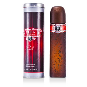 Cuba Red Eau De Toilette Spray  100ml/3.4oz