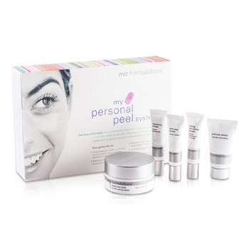 MD Formulations My Personal Peel System  5pcs