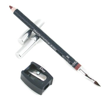 Christian Dior Lipliner Pencil - No. 593 Brown Fig  1.2g/0.04oz