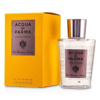 Acqua Di Parma Żel do kąpieli i pod prysznic Colonia Intensa Hair & Shower Gel  200ml/6.7oz