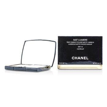 Chanel Mat Lumiere Luminous Matte Powder Makeup SPF10 - # 125 Eclat  13g/0.45oz