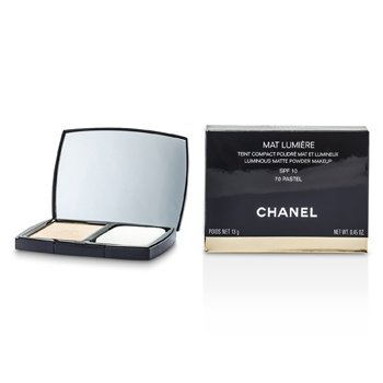 Chanel Mat Lumiere Luminous Matte Powder Makeup SPF10 - # 70 Pastel  13g/0.45oz