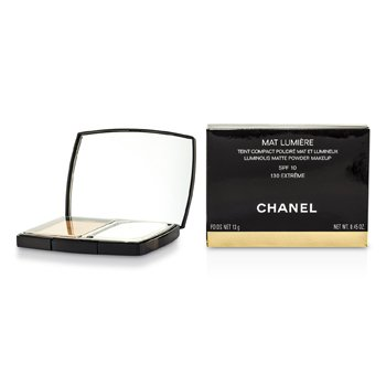 Chanel Mat Lumiere Luminous Matte Polvos Maquillaje SPF10 - # 130 Extreme  13g/0.45oz