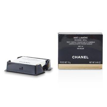 Chanel Mat Lumiere Luminous Matte  Polvos Compactos Recambio SPF10 - # 125 Eclat  13g/0.45oz