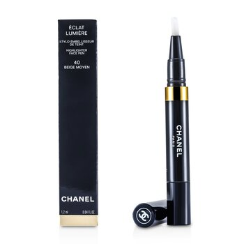Chanel Korektor w sztyfcie Eclat Lumiere Highlighter Face Pen - #40 Beige Moyen  1.2ml/0.04oz