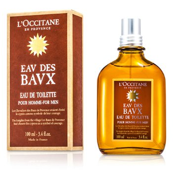 L'Occitane Eau Des Baux For Men Agua de Colonia Vaporizador  100ml/3.4oz