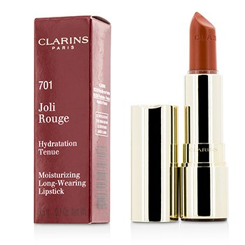 Clarins Pomadka nawilżająca Joli Rouge (Long Wearing Moisturizing Lipstick) - #701 Orange Fizz  3.5g/0.12oz