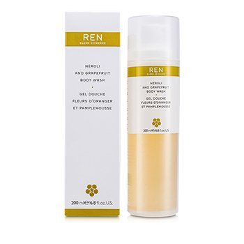 Ren Neroli & Grapefruit Body Wash  200ml/6.8oz