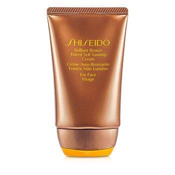 Brilliant Bronze Tinted Self-Tanning Cream - Medium Tan (For Face)  50ml/1.8oz