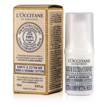 Shea & Organic Cotton Serum Ultra Reconfortante  15ml/0.5oz