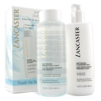 Softening Duo (Limited Edition): Cleansing Milk 400ml + Toner 400ml  2pcs