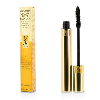 Yves Saint Laurent Mascara Volume Effet Faux Cils (Luxurious Mascara) - # 01 High Density Black  7.5ml/0.2oz