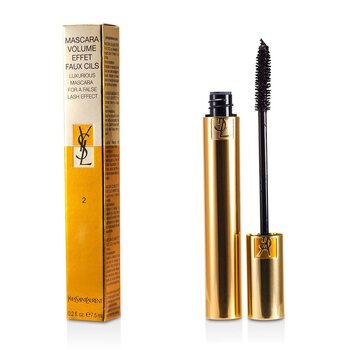 Yves Saint Laurent Mascara Volume Effet Faux Cils (Máscara Lujosa) - # 02 Rich Brown  7.5ml/0.25oz