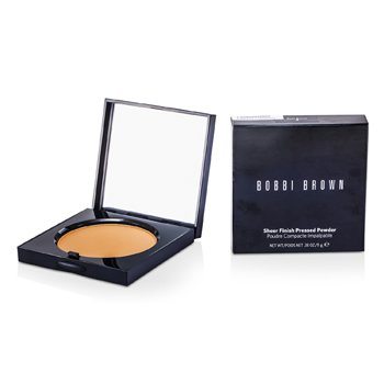 Bobbi Brown Sheer Finish Pressed Powder - # 04 Basic Brown  11g/0.38oz