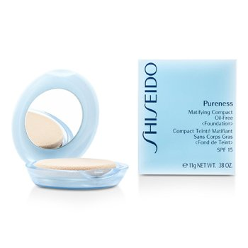 Pureness Matifying Compact Oil Free Foundation SPF15 (Case + Refill)  11g/0.38oz