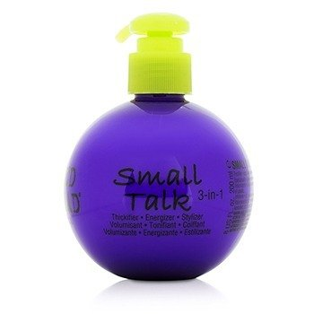 Tigi Bed Head Small Talk - 3 dalam 1 Penebal, Pengenergi & Penggaya  200ml/8oz