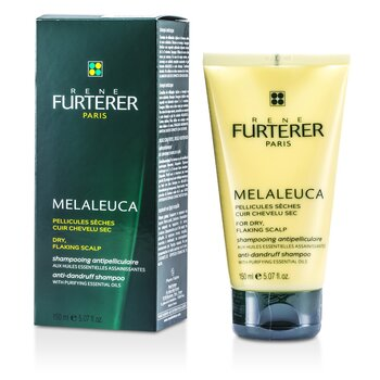 Rene Furterer Melaleuca Anti-Dandruff Shampoo (For Dry, Flaking Scalp)  150ml/5oz