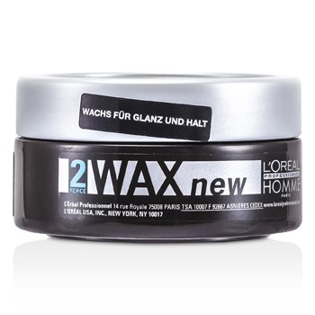 Professionnel Homme Wax (Shine and Definition Wax, No Greasy Effet)  50ml/1.7oz