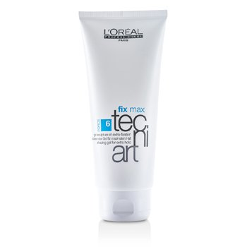 L'Oreal Professionnel Tecni.Art Fix Max Gel - Shaping Gel For Extra Hold  200ml/6.7oz