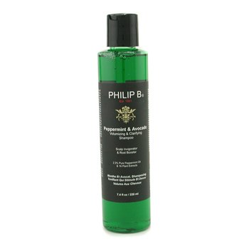 Peppermint & Avocado Volumizing & Clarifying Shampoo  220ml/7.4oz