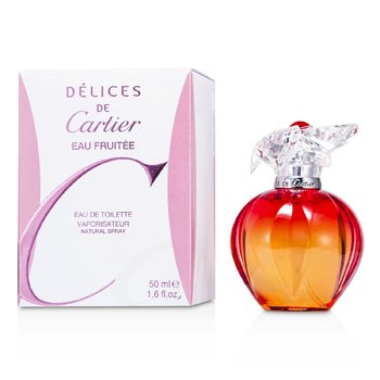 Delices de Cartier Eau Fruitee Agua de ColoniaVaporizador  50ml/1.6oz