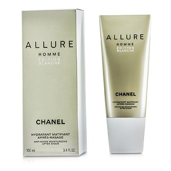 Allure Homme Edition Blanche Crema Para Después de Afeitar Anti Brillo (Hecha en USA) 100ml/3.4oz