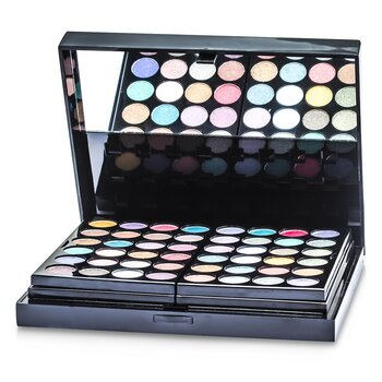 MakeUp Kit 396 (48x Eyeshadow, 24x Lip Color, 2x Pressed Powder, 4x Blusher, 5x Applicator)  -