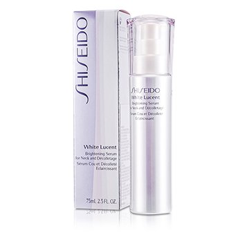 Shiseido White Lucency Perfect Radiance Brightening Serum Cuello y Escote Iluminador  75ml/2.5oz