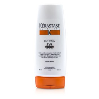 Kerastase Leite Nutritivo Vital Incredibly Light Nourishing Care (Para Cabelo Normal á Seco)  200ml/6.8oz