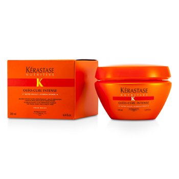 Kerastase Kerastase Nutritive Oleo-Curl Intense Hydra-Softening Curl Definition Masque ( Para sa Thick, Curly & Unruly Hair )  200ml/6.8oz