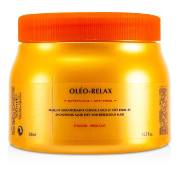 Kerastase Nutritive Oleo-Relax Smoothing Mask (Dry & Rebellious Hair)  500ml/16.7oz