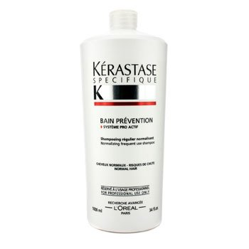 Kerastase Specifique Bain Prevention Frequent Use Shampoo (Normal Hair)  1000ml/34oz