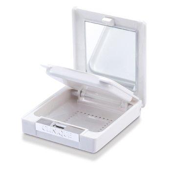 Derma White Double Decker White Marble Compact Case  -