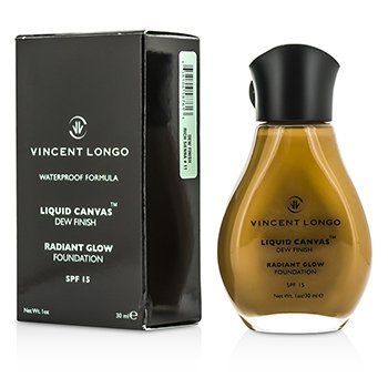 Vincent Longo Liquid Canvas Fond de Ten Finisaj Înrourat SPF15 - Rich Sienna  30ml/1oz