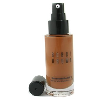 Bobbi Brown Skin Foundation SPF 15 - # 6.5 Warm Almond  30ml/1oz