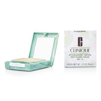 Clinique Almost Maquillaje en Polvo SPF 15 - No. 04 Neutral (Nuevo Empaque)  13g/0.45oz