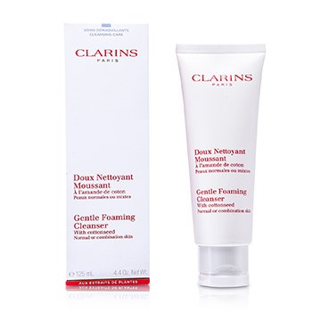 Gentle Foaming Cleanser with Cottonseed - Normal or Combination Skin  125ml/4.4oz