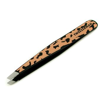 Tweezerman Slant Tweezer (Pattern Prints) - Animal Print/ Leopard