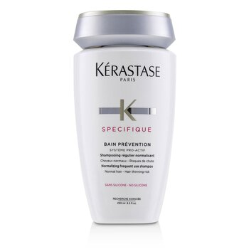 Specifique Bain Prevention Normalizing Frequent Use Shampoo (Normal Hair - Hair Thinning Risk)  250ml/8.5oz