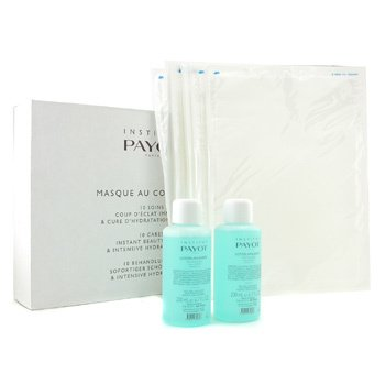 Payot Masque Au Collagene Set: 2x Soothing Lotion 200ml + 10x Collagen Sheet (Salon Size)  12pcs