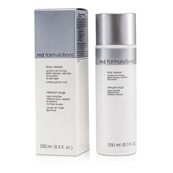 MD Formulations Limpiador Facial Fórmula piel sensible  250ml/8.3oz