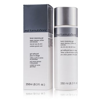 MD Formulations Gel Limpiador Facial  250ml/8.3oz