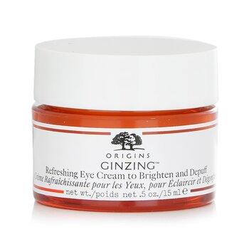 GinZing Crema Ojos Refrescante y Anti hinchazón  15ml/0.5oz