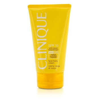 Clinique Face / Creme p/ o corpo SPF 15 UVA / UVB  150ml/5oz